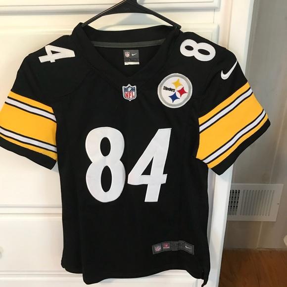 sports shoes 6f580 62867 Women's AB Steelers Jersey XS